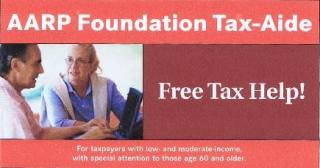 DF Library Event: AARP Income Tax Aid
